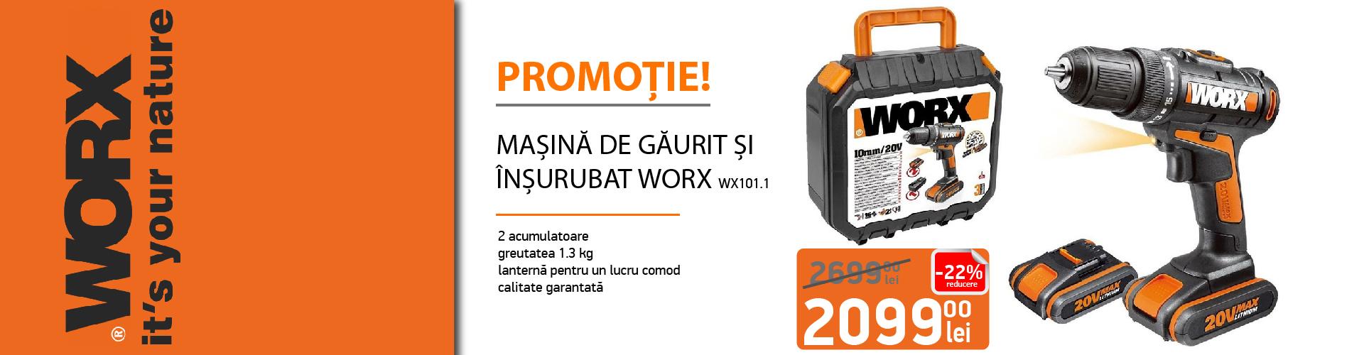 Promotie Worx