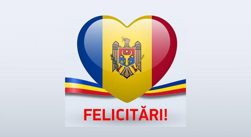 Felicitări cu Sărbătorile Naționale