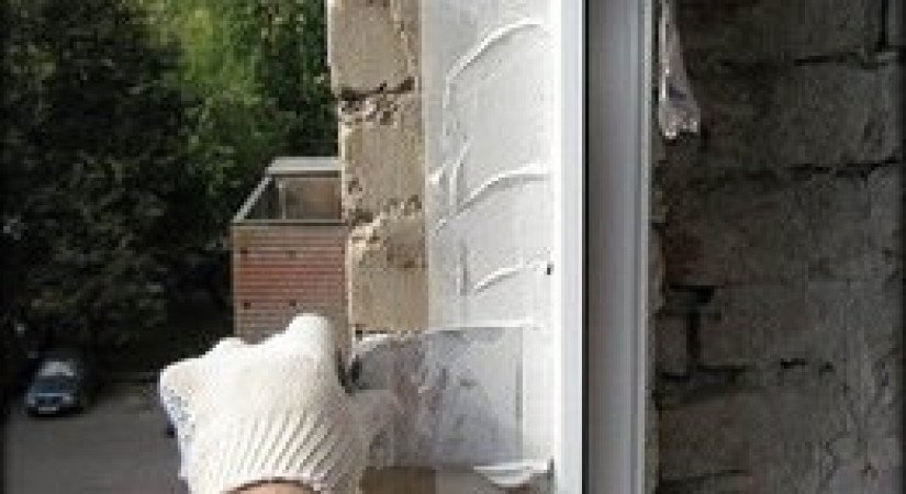 Герметизация швов и трещин