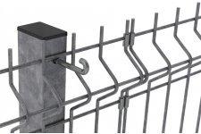 Панели и столбы ограждения