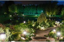 Садовое и парковое освещение