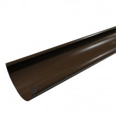 Желоб водосточный коричневый 125x2000мм