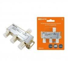 Делитель сигнала ТВ 3F-разъема 5-1000MГц