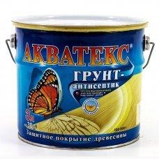 Грунт aнтисептик Акватекс Бесцветный 3л