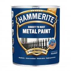 Краска для металла Золотистая гладкая 0.75л