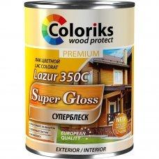 Лак Premium Lazur 350C оливковый 0,75л