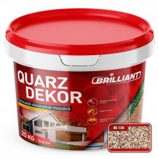 Декоративная штукатурка мозаика Quarz Dekor 25кг BS120