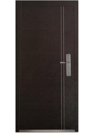 Дверь металлическая N-710 левая 205x96х7см