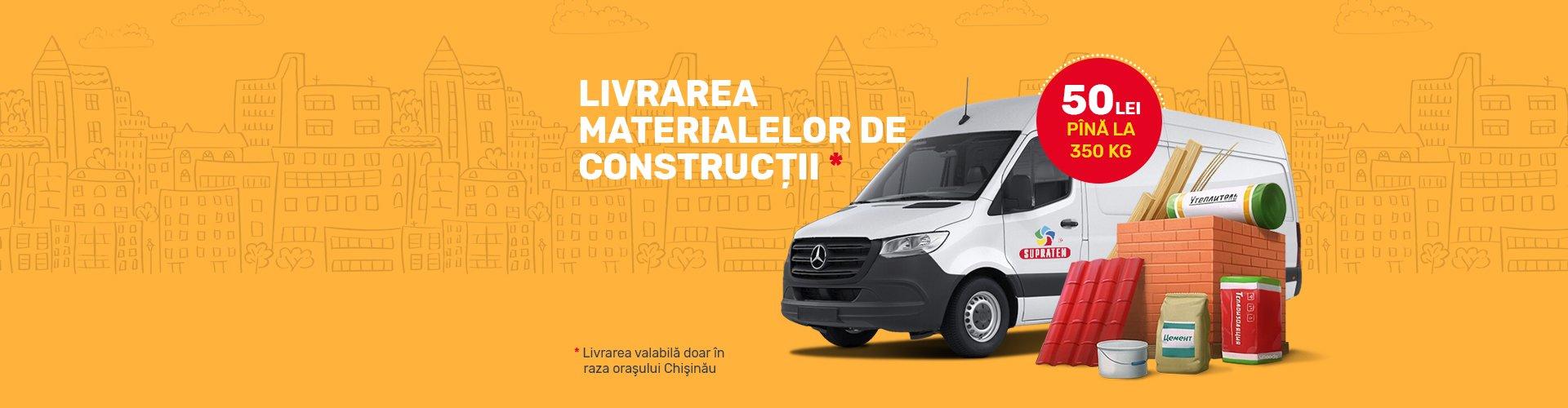 Livrarea produselor de constructii