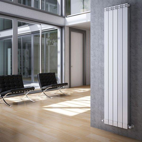 Радиатор алюминиевый Maior S90 1466x80мм 1секция